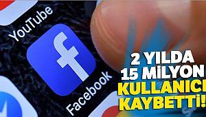 Facebook 2 yılda 15 milyon kullanıcı kaybetti
