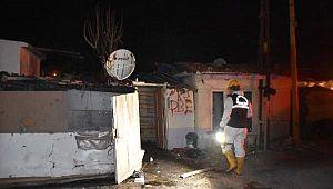Kırklareli'de Zeynep'in Katil Zanlısının Evi Yakıldı