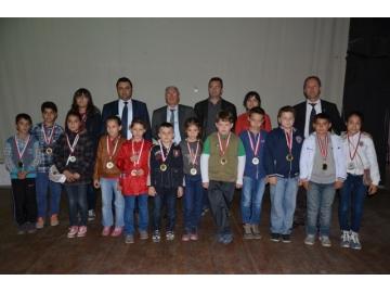 Hayrabolu ve Malkara'da Cumhuriyet Bayramı Satranç Turnuvası düzenlendi